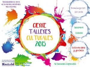 cierre de talleres culturales 2015.Diapositiva1