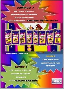 folleto carnaval 2016