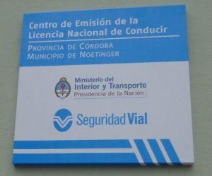 centro emisor licencia nacional conducir para web