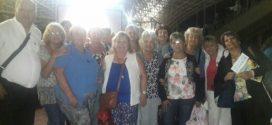 Adultos Mayores de la localidad en Festival Nacional de Villa María