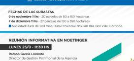 Reunión Informativa en Noetinger sobre Subastas Públicas