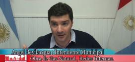 Red Interna de la Obra Gas Natural (Etapa I)
