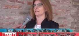 """Dra. Jimena Paez y su Charla Informativa """"Diabetes a la Carta…"""""""