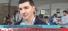 Intendente Sr. Angel Bevilacqua y Córdoba Juega en Noetinger