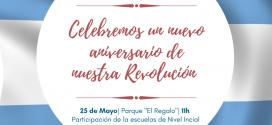 Celebremos un nuevo aniversario de nuestra Revolución !
