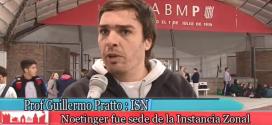 Prof. G. Pratto (ISN) y Programa Córdoba Juega en Noetinger