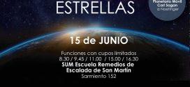 Planetario Móvil en S.U.M.  de la Escuela R. E. de San Martín