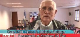 "Sr. Oscar Pratti (Centro Jubilados) y el Programa ""Córdoba Mayor"""