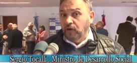 Min. Desarrollo Social Dr. Sergio Tocalli en Noetinger