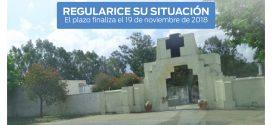 Cementerio Municipal: convocatoria a Contribuyentes