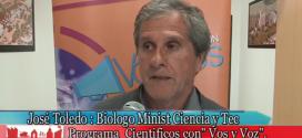 Biólogo José Toledo (Min. Ciencia y Tecnología) y Bosques Nativos