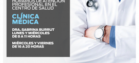 """SE SUMAN HORAS DE ATENCIÓN MEDICA EN EL HOSPITAL CENTRO DE SALUD MUNICIPAL """"MALVINAS ARGENTINAS"""""""