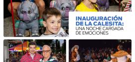 """Inauguración de Calesita """"Infancias Felices"""", pesebre, distinciones y música"""