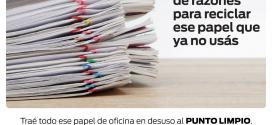 Hay una pila de razones para reciclar el papel que ya no usas!