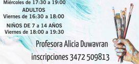 COMIENZAN LAS CLASES DEL TALLER DE ARTE