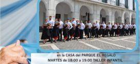 CLASES PARA NIÑOS, JÓVENES Y ADULTOS EN EL TALLER DE FOLCLORE MUNICIPAL