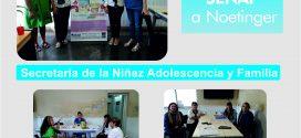 TRABAJO CONJUNTO ENTRE AREAS ACCIÓN SOCIAL Y CONSEJO DE LA NIÑEZ Y ADOLESCENCIA CON LA SENAF Y TRIBUNALES (B.VILLE)