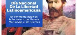 17 DE JUNIO – DÍA NACIONAL DE LA LIBERTAD LATINOAMERICANA