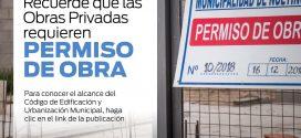 OBRAS PRIVADAS QUE REQUIEREN PERMISO DEL MUNICIPIO