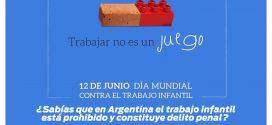12 DE JUNIO : DÍA MUNDIAL CONTRA EL TRABAJO INFANTIL