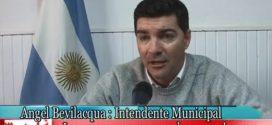Intendente Municipal Ángel Bevilacqua y Luminarias Led y Proyecto de Espacios Públicos