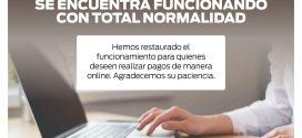SE NORMALIZÓ LA FUNCIONALIDAD DEL BOTÓN DE PAGO LINK