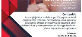 SE INICIA EL «DIPLOMADO EN GESTIÓN DE LAS ORGANIZACIONES PÚBLICAS-PRIVADAS»