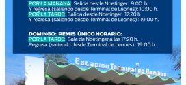SERVICIO DE «REMIS» ALTERNATIVO LOS FINES DE SEMANA