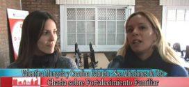 Ps. V. Munguía y C. Gabutto en Taller de Fortalecimiento Familiar