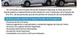 RELEVAMIENTO INGRESO FAMILIAR DE EMERGENCIA