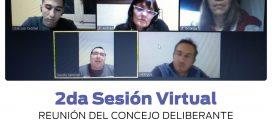 SESIÓN ORDINARIA (VIRTUAL) DEL CONCEJO DELIBERANTE